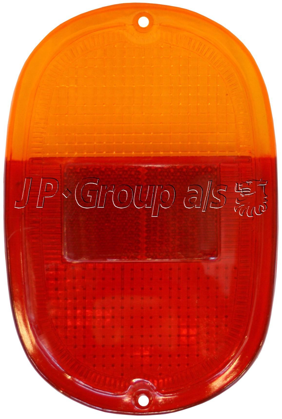 Splitscreen Bus Tail Light Lens - 1962-67 (Also Baywindow Bus - 1968-71)