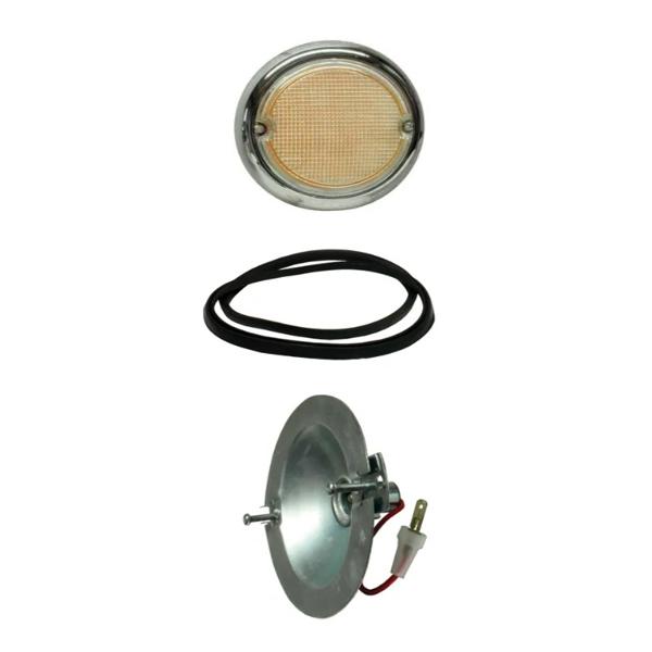 Splitscreen Bus Fish Eye Indicator Assembly - Right - 1963-67