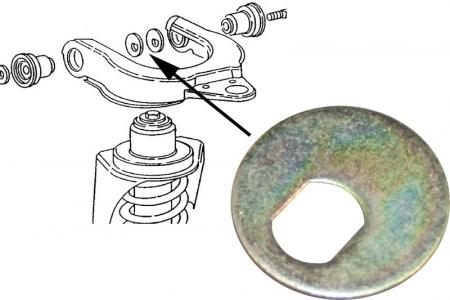 T25 79-92 Upper Control Arm Eccentric Washer (4mm)