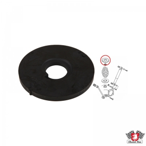Type 25 Rear Coil Spring Upper Rubber Pad (Also T4 Rear Coil Spring Upper Rubber Pad)