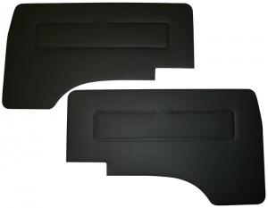 Type 25 Cab Door Panel Kit Black Vinyl