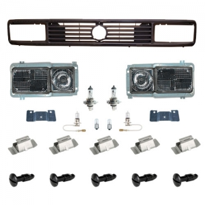 Type 25 Square Headlight Conversion Kit (European Beam Pattern)