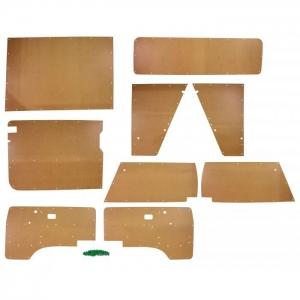 T25 9 Piece Hardboard Interior Panel Kit RHD 1985 - 1991