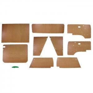 T25 9 Piece Hardboard Interior Panel Kit RHD 1980 - 1984