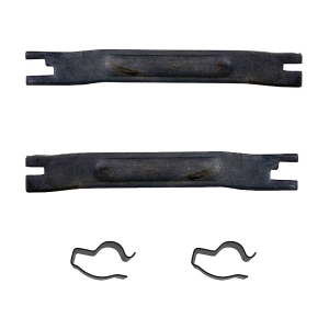 Beetle Rear Brake Shoe Support Bar And Clip Kit - 1958-79