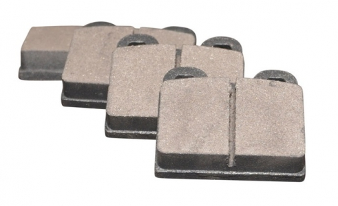 Front Brake Pad Set (Square 2 Pin) - T1, KG (1972 ONLY), T3 (1965-71)
