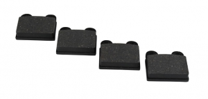 Front Brake Pad Set (Square 2 Pin) - T1, KG (1972 ONLY), T3 (1965-71) - ATE