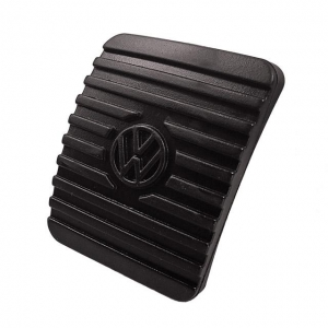 Clutch And Brake Pedal Cover - Wedge Style With VW Logo