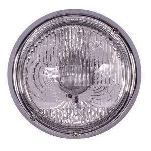 Beetle 3 Screw Headlight (UK Beam Pattern) - 1968-73 (Also Baywindow Bus + Type 3) - Top Quality