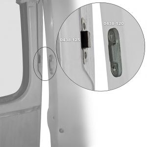 Splitscreen Bus Rear Tailgate Guide (On Tailgate) - 1964-67 (Also Baywindow Bus 1968-71)