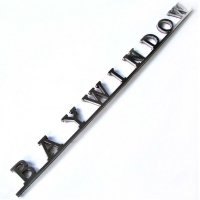 **ON SALE** BAYWINDOW Tailgate Badge - 1968-79 - T2