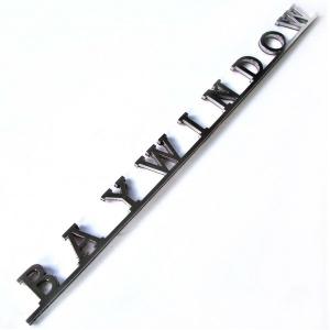 **ON SALE** BAYWINDOW Tailgate Badge - 1968-79 - T2