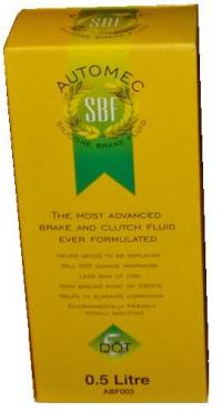 DOT 5 Silicone Brake Fluid 500ml Bottle