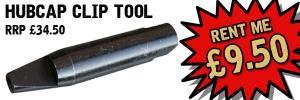 Hubcap Clip Installation Tool - Tool HIRE £9.50