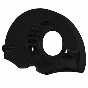 Black Twin Port Fanshroud With Air Outlets