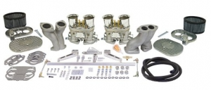 Twin 40mm EMPI HPMX Carburettor Kit - Type 1 Twin Port Engines