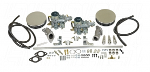 Twin 34 EPC EMPI Carburettor Kit - Type 3 Single Port Engines