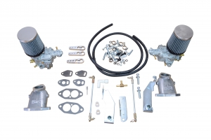 Twin 34 EPC EMPI Carburettor Kit - Type 1 Twin Port Engines