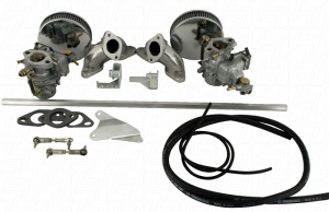 Twin 34 EPC EMPI Carburettor Kit - Type 4 Engines