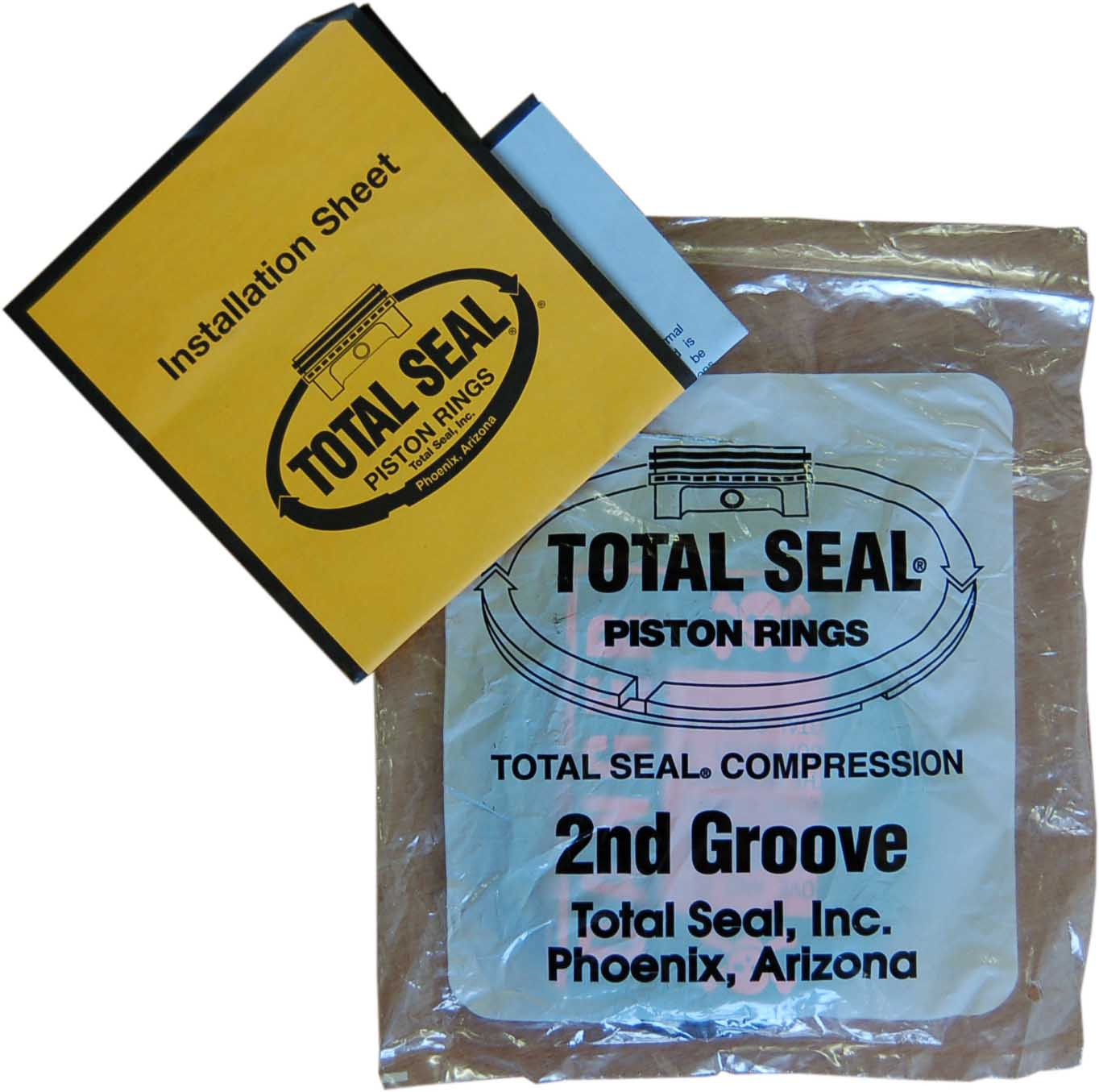 1600cc Total Seal Piston Ring Set - 85.5mm Bore (2nd Ring Only, 2mm Thick)