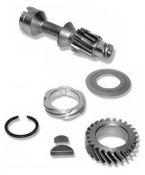 Crankshaft Installation Kit With Distributor Drive Gear - Type 1 Engines