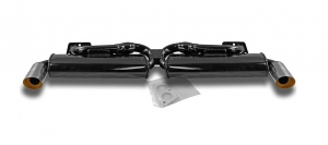 Baywindow Bus EMPI Twin Quiet Pack Exhaust System - Type 4 Engines