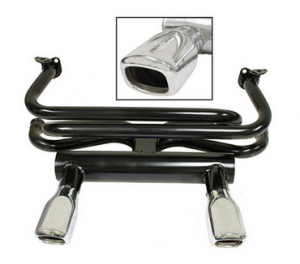 EMPI Square Tip Exhaust - Type 1 Engines (Not 1200cc)