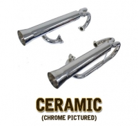 Ceramic Coated EMPI Mega Dual Racing Cannons