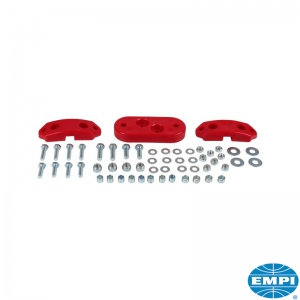 T1 61-72 Urethane Gearbox Mount Kit (Red)