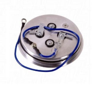 SSP Steering Wheel Polished Horn Push (Small)