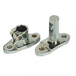 Beetle Chrome Steering Coupling Flange Joints (Not 1302 + 1303 Models) (Also Karmann Ghia And Type 3)