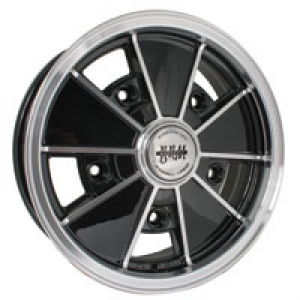 Gloss Black SSP BRM Alloy Wheel - 5x205 PCD