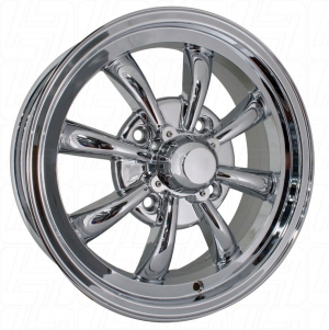 Chrome SSP GT 8 Spoke Alloy Wheel - 4x130 PCD