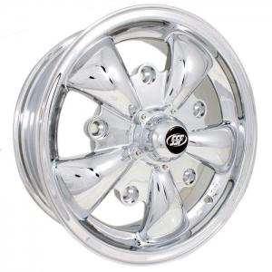 Chrome SSP GT 5 Alloy Wheel - 5x205 PCD