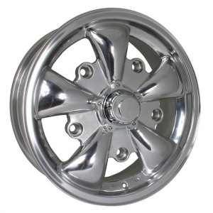 Polished SSP GT 5 Spoke Alloy Wheel - 5x205 PCD