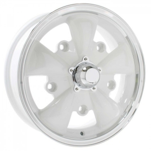 White SSP GT 5 Alloy Wheel - 5x205 PCD