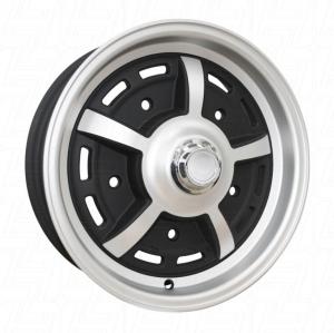 Matt Black SSP Sprintstar Alloy Wheel - 5x205 PCD