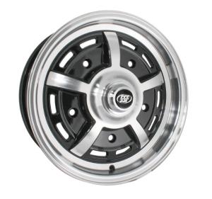 Gloss Black SSP Sprintstar Alloy Wheel - 5x205 PCD