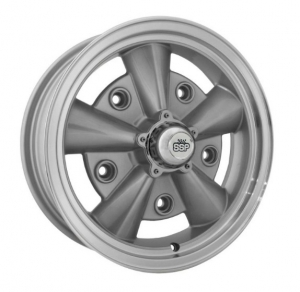 Silver SSP Crest Alloy Wheel - 5x205 PCD