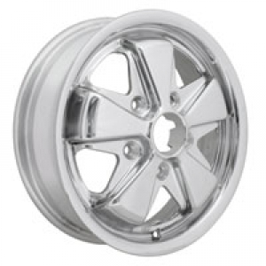 TUV Approved 4.5 x 15 Polished SSP Fook Alloy Wheel - 5x130 PCD