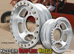 EMPI Race-Trim Bead-Lock Wheel - 4 Inch Wide