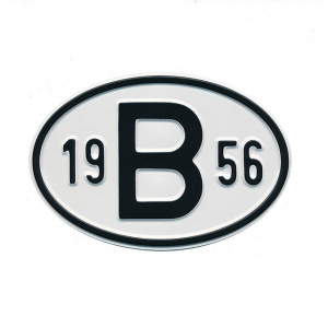 1956 B Country Plate