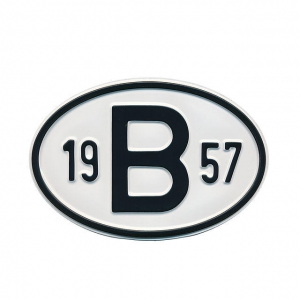 1957 B Country Plate