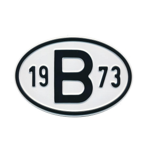1973 B Country Plate