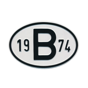 1974 B Country Plate