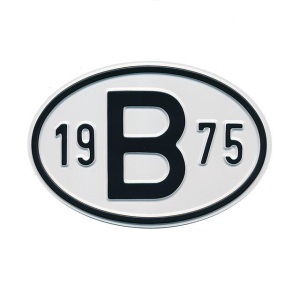 1975 B Country Plate