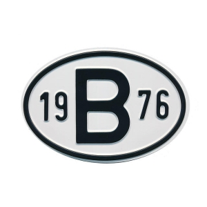 1976 B Country Plate