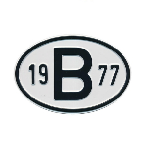 1977 B Country Plate