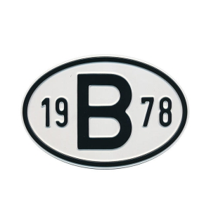 1978 B Country Plate
