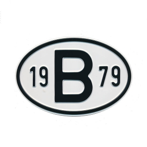 1979 B Country Plate